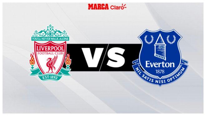 Liverpool vs Everton, en vivo el minuto a minuto.