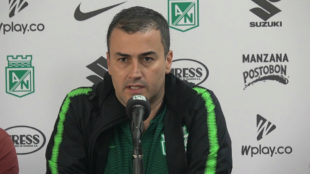 Juan David Pérez, presidente de Atlético Nacional.