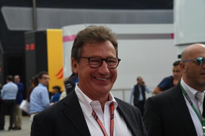 Louis Camilleri, CEO Ferrari.