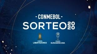 Sorteo de la Copa Libertadores y Copa Sudamericana 2020 en vivo
