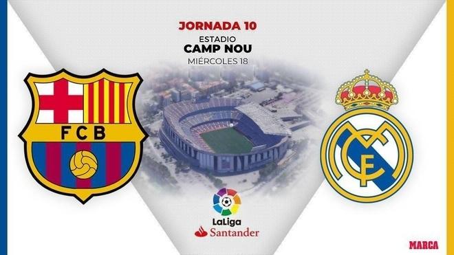 Barcelona vs Real Madrid, en vivo el partido de hoy de la Jornada ...