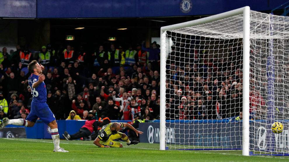 Southamton sorprende al Chelsea en el 'Boxing Day'