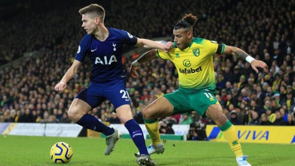 El Tottenham de Dávinson Sánchez rescata un punto ante el colista ...