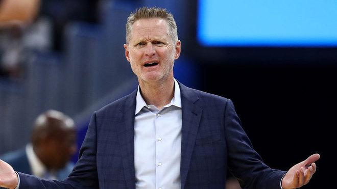 Steve Kerr, coach de los Golden State Warriors.
