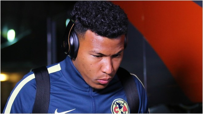Roger Martínez, delantero colombiano que milita en el América de...