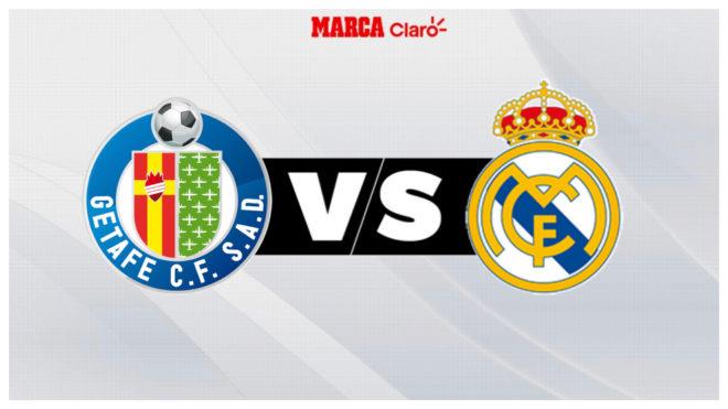 Getafe vs Real Madrid, en vivo el partido de hoy de la jornada 19 de ...