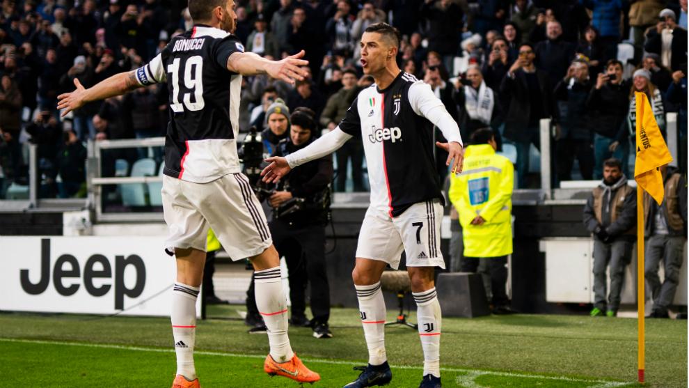 Juventus disfrutó con el triplete de CR7.