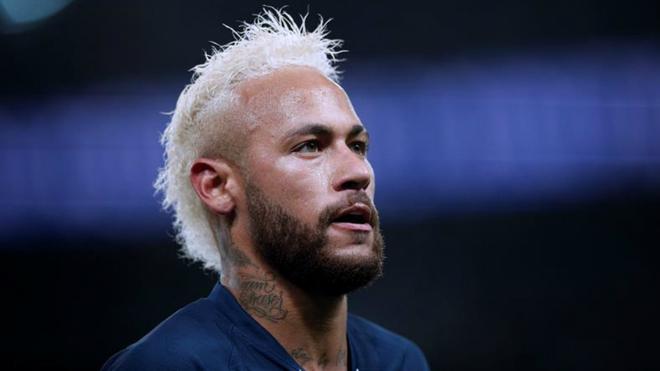 Neymar, futbolista brasileño que milita en el PSG.