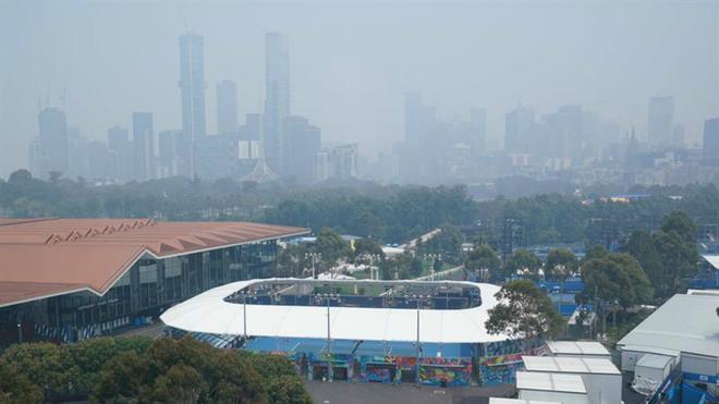 Panorámica de la ciudad de Melbourne.