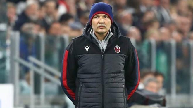 Sinisa Mihajlovic, entrenador del Bolonia.