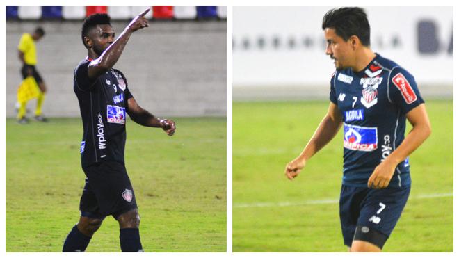 Miguel Ángel Borja y Sherman Cárdenas ya empiezan a hacer daño.