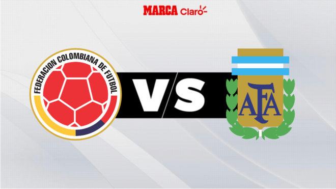 Colombia vs Argentina, en vivo el partido de hoy de la primera fase