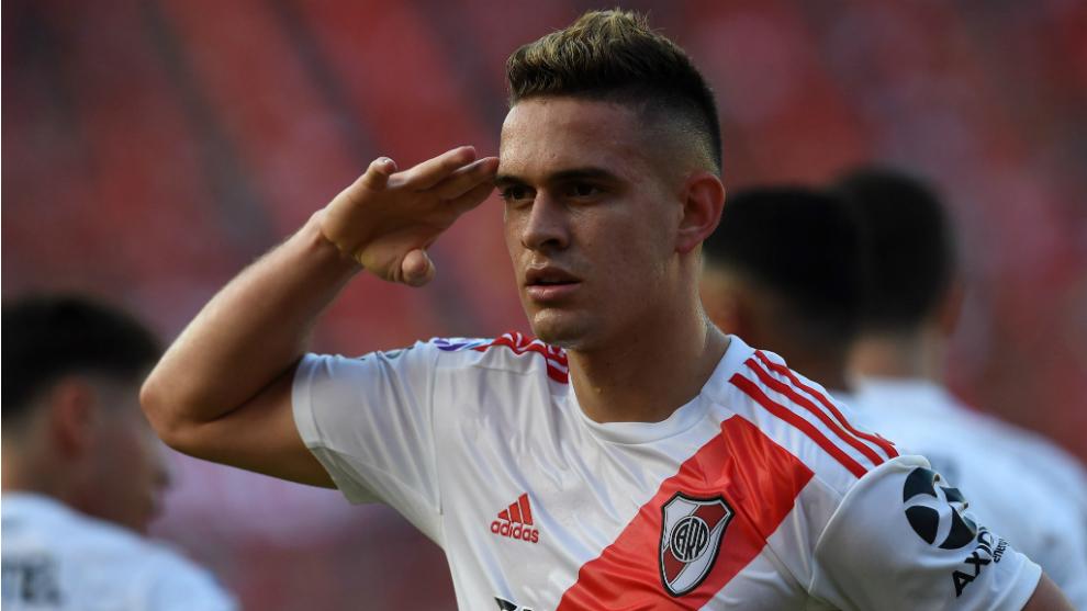 Sus goles dejaron puntero a River Plate
