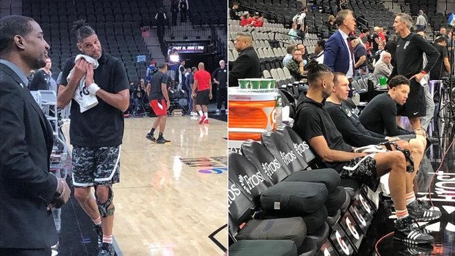 En Spurs-Raptors, uno de los primeros homenajes a Kobe