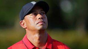 Woods y una mirada perdida.