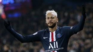 Neymar logra los mejores números de su carrera en París.