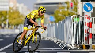 Egan Bernal durante el Tour de Francia 2019.