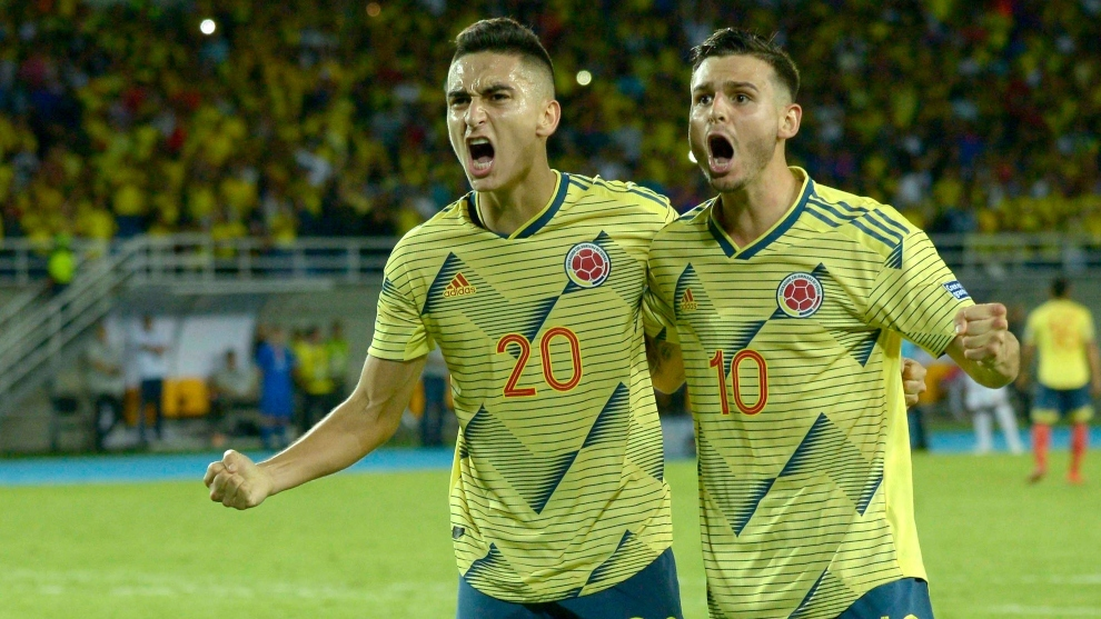 Image result for colombia gana partido