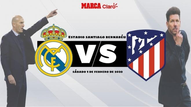 Real Madrid vs Atlético de Madrid, en vivo el partido de hoy de la ...