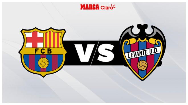 Barcelona vs Levante, en vivo el partido de hoy de la Jornada 22