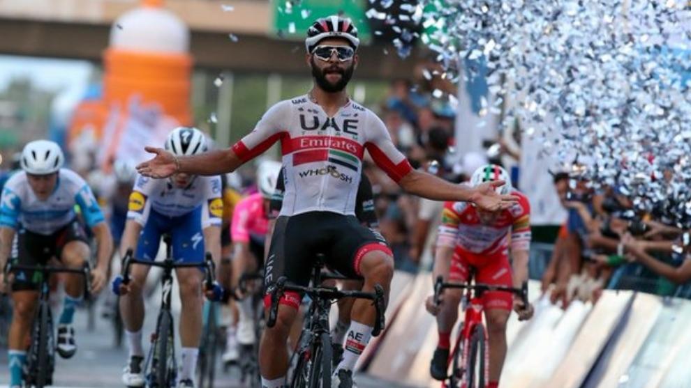 Fernando Gaviria cerró la Vuelta con otro triunfo en la Circunvalación