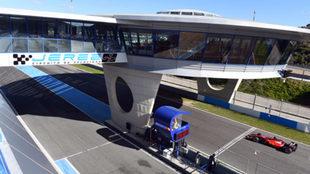 Circuito de Jerez, en España.