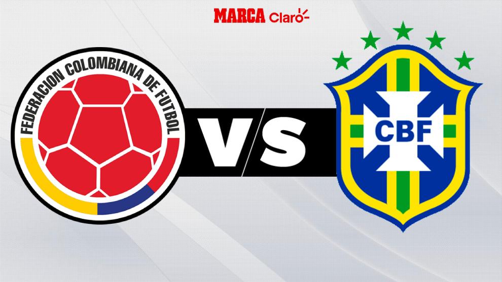 Colombia vs Brasil: en vivo el minuto a minuto del partido del ...