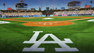 Diamante de Los Angeles Dodgers.