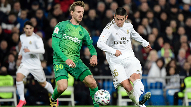El dato que sentencia a James en el Real Madrid