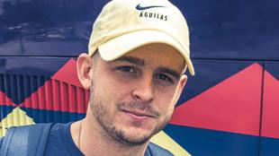 Benedetti, futbolista del América de México.
