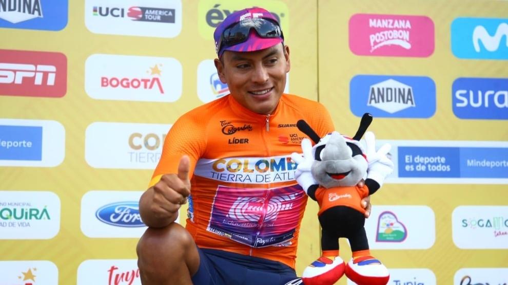 Jonathan Caicedo y un nuevo podio en el Tour Colombia 2.1