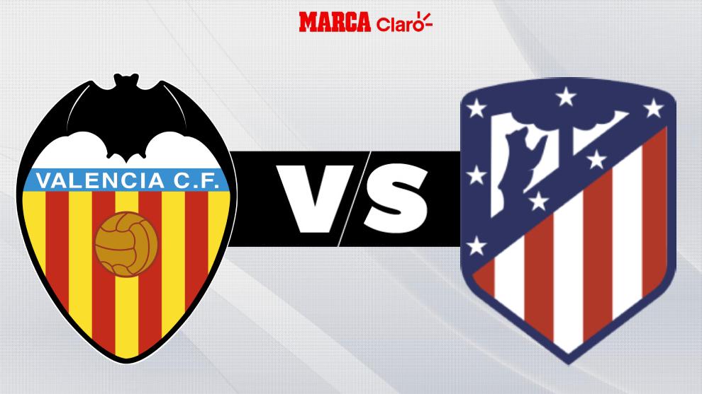 En directo, el juego en Mestalla.