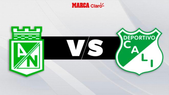 Atlético Nacional vs Deportivo Cali, en vivo: el partido de hoy de la ...