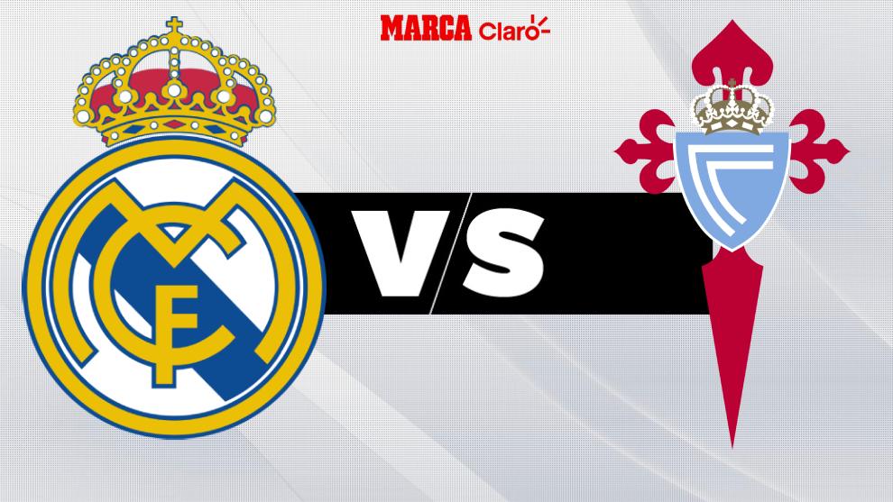 Real Madrid vs Celta de Vigo: alineaciones, estadísticas, goles, en directo
