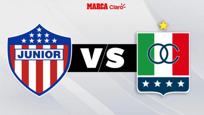 Junior vs Once Caldas, en vivo el partido de la fecha 5.