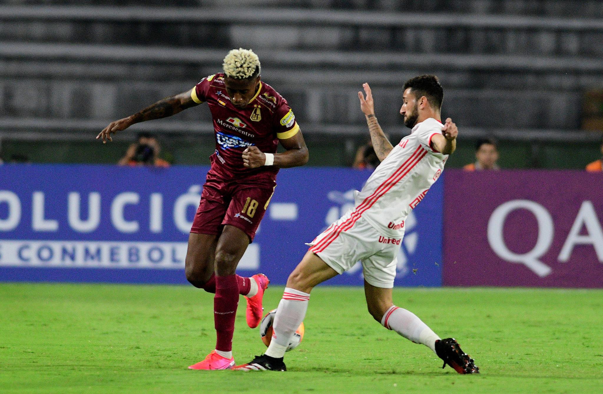 Tolima vs Internacional: Tolima desaprovecha el bajón de Inter de Porto Alegre y cede un empate en Ibagué 3