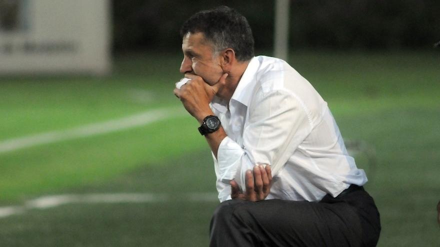 Juan Carlos Osorio durante un partido.