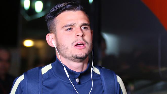 Benedetti, futbolista colombiano que milita en el América de México.