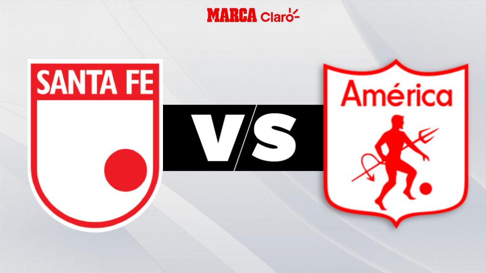 Liga Betplay Dimayor 2020 Santa Fe Vs America De Cali En Vivo Partido De La Fecha 6 En El Campin De Bogota Marca Claro Colombia