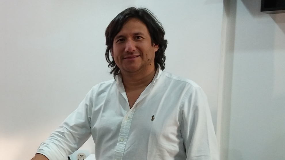 José Augusto Cadena, presidente del Cúcuta Deportivo.