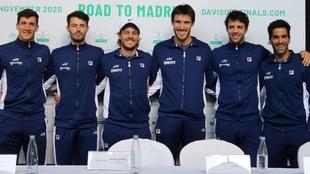 Equipo de Argentina para la serie clasificatoria de Copa Davis.