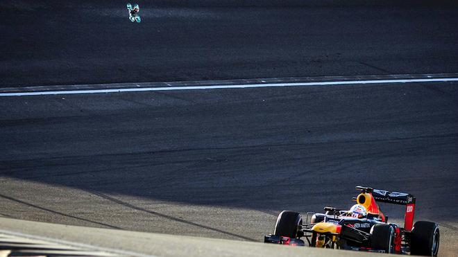Max Verstappen durante un entrenamiento libre.