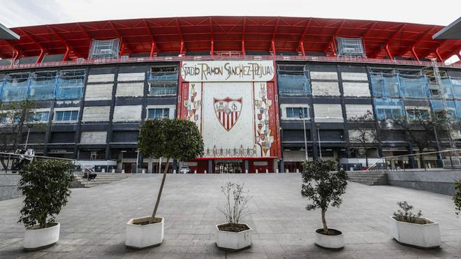 El estadio Sánchez Pizjuán.