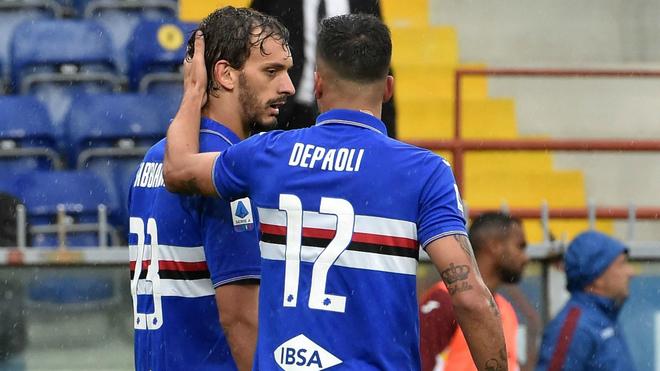 Resultado de imagen de gabbiadini sampdoria