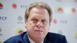 Ramón Jeserún, presidente de la Federación Colombiana de Fútbol.