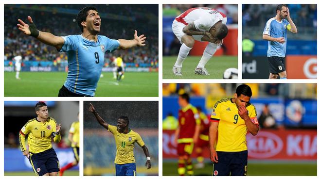 Jugadores sudamericanos.