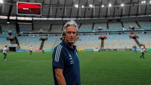 Jorge Jesús, entrenador del Flamengo.