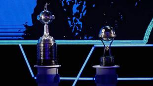 Trofeos de ambos torneos.