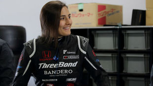 Tatiana Calderón, piloto colombiana.