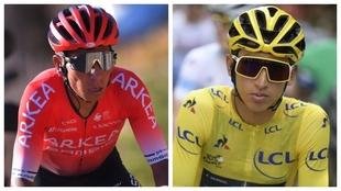 Nairo Quintana se refirió a una posible comparación con Egan.